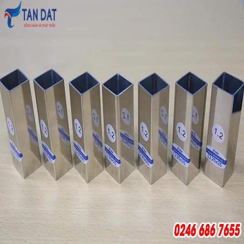Hộp inox 304 - 25 x 25 mm