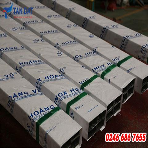 Hộp inox 304 - 50 x 100 mm
